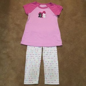 American Girl pajamas XS(6)
